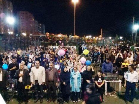 جشنواره تابستانه حامیان آب در پردیس برگزار شد