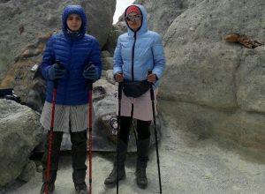 صعود دختران کاراتهکای شهرستان پردیس به قله دماوند