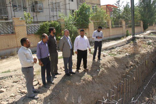 بازدید مسئولان از پروژههای عمرانی روستای سعید آباد جاجرود/ احداث استخر سرپوشیده روستا بااعتباری بالغبر ۱٫۵ میلیارد تومان