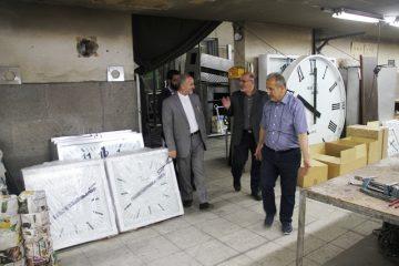 بازدید مسئولان از شرکت آوای زمان در جاجرود
