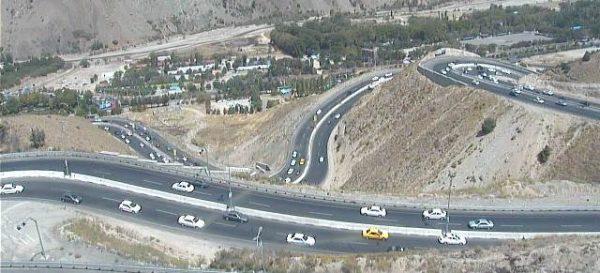 ترافیک سنگین محورهای پردیس، هراز و فیروزکوه