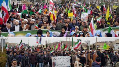 تصویر از باحضور پرشور مردم صورت گرفت؛  راهپیمایی ۲۲ بهمن در شهر پردیس در چهلمین سالگرد انقلاب اسلامی + تصاویر
