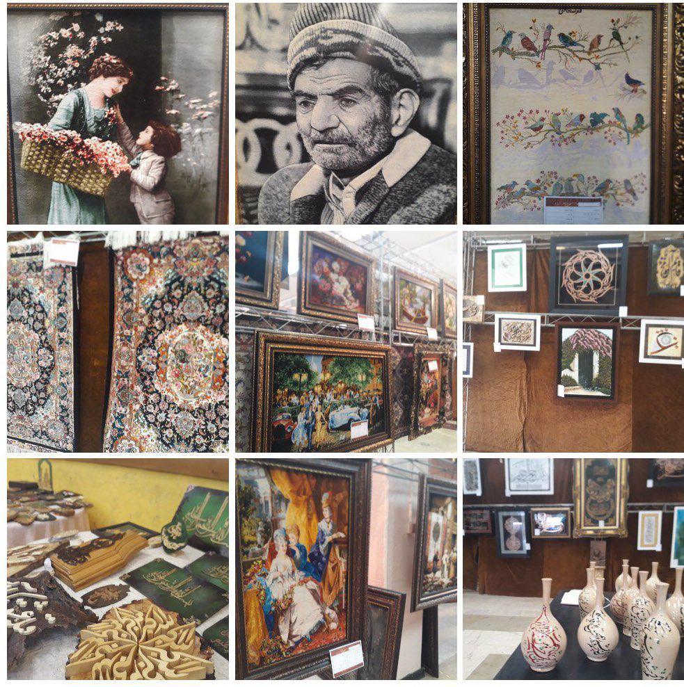 نمایشگاه نقاشی نگارخانه آوای پردیس