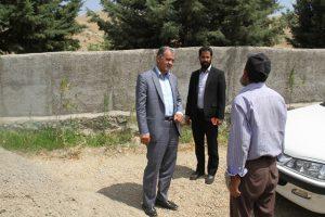 بازدید فرماندار پردیس روستاهای کرشت و طاهرآباد