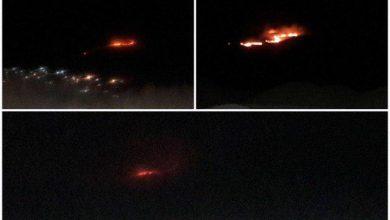 تصویر از آتشسوزی پارک ملی خجیر  پس از چند ساعت تلاش مهار شد