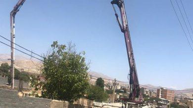 تصویر از عملیات بتن ریزی فنداسیون سوله ورزشی چند منظوره شهید فریبرز حبیبی در محله شهرآباد