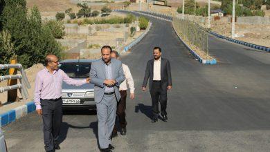 تصویر از بازدید سرزده مدیر اداره کل دفتر فنی،عمرانی، حمل و نقل و ترافیک استانداری تهران از شهر بومهن