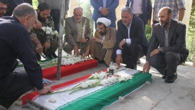 تصویر از به مناسبت هفته دفاع مقدس انجام گرفت:   گلباران و عطر افشانی مزار شهدای شهرستان پردیس