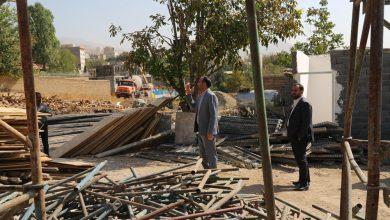 تصویر از بازدید میدانی شهردار بومهن از روند اجرای پروژه های عمرانی و خدماتی در سطح شهر