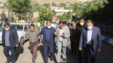 تصویر از دیدار شهردار و رئیس شورای اسلامی شهر بومهن با جمعی از اهالی شهرک بهار طلاییه