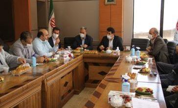 تصویر از بررسی مشکلات شرکت سامانه آوای پایتخت با حضور معاون استاندار تهران