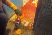 تصویر از کشف زعفران مایع تقلبی در بومهن