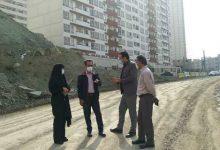 تصویر از آغاز عملیات زیرسازی و آسفالت خیابان دکتر حسابی در شهر پردیس
